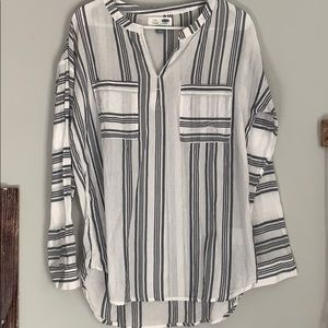 Striped Old Navy Tunic